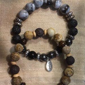 Jewelry - Two Essential Oil Bracelets